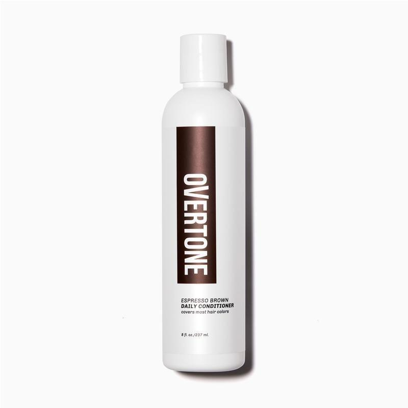 "<p><strong>Espresso Brown</strong></p><p>overtone.co</p><p><strong>$3.00</strong></p><p><a href=""https://overtone.co/collections/shop-all/products/espresso-brown-daily-conditioner"" rel=""nofollow noopener"" target=""_blank"" data-ylk=""slk:BUY IT HERE"" class=""link rapid-noclick-resp"">BUY IT HERE</a></p><p>Ideal for hair dye beginners and commitment-phobes alike, these semi-permanent hair coloring conditioners come pre-mixed in almost every color you can think of from natural browns to bright neons. Application is easy: apply to dry hair for 10-15 minutes and then rinse out. The process feels more like applying a hair mask than dye and is less likely to leave your hair dry and crispy feeling. Keep in mind that the bright colors are only super-saturated on bleached hair, but can still give a subtle sheen of purple or blue. For a more natural look, choose the color closest to your natural hue.</p>"
