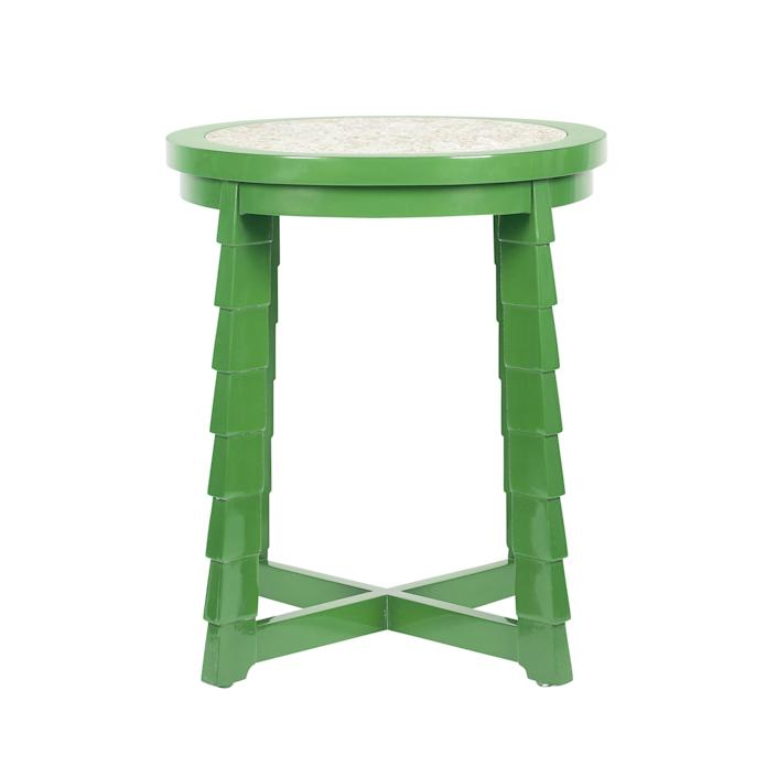 """$1800, Bunny Williams Home. <a href=""""https://www.bunnywilliamshome.com/collections/tables/products/copy-of-mateo-drinks-table-red"""" rel=""""nofollow noopener"""" target=""""_blank"""" data-ylk=""""slk:Get it now!"""" class=""""link rapid-noclick-resp"""">Get it now!</a>"""