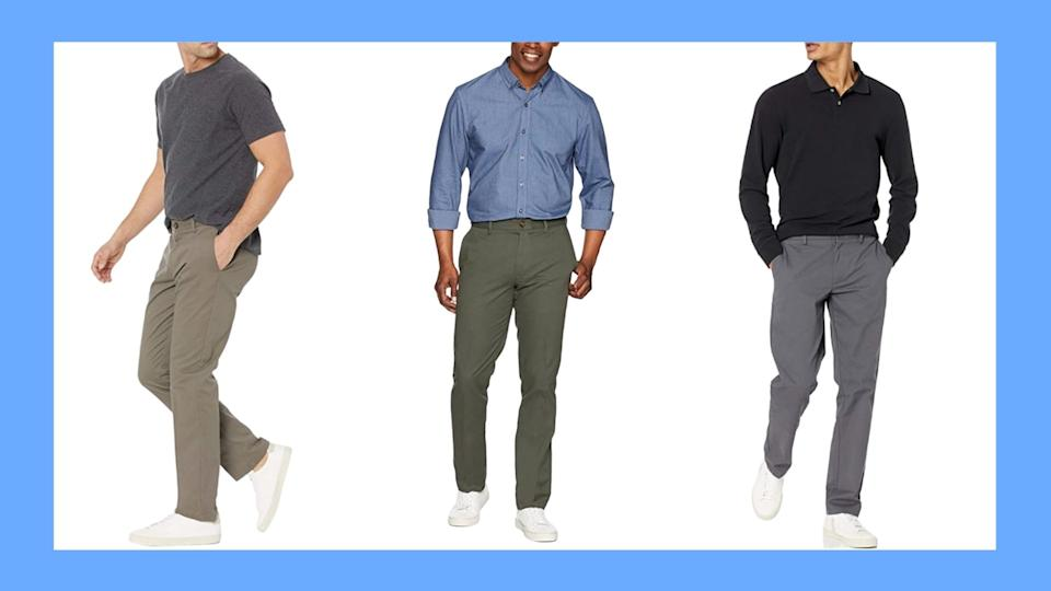 Amazon Essentials Chinos are a must-have for summer (Images via Amazon).