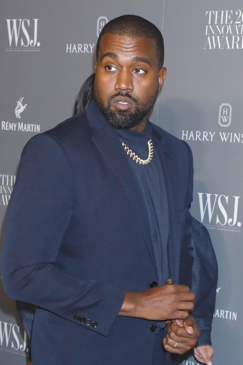 Kanye West (Photo: Gregory Pace/Shutterstock)