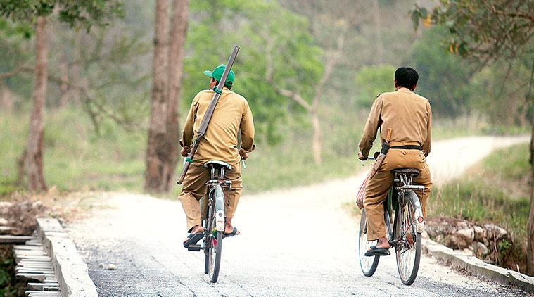 Forest guards, Forest stalwarts , Gir forest, life of a forest guard, indian express news