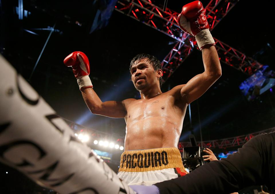 The presidency is one title bout Manny Pacquiao should lose. (Photo: Christian Petersen/Getty Images)