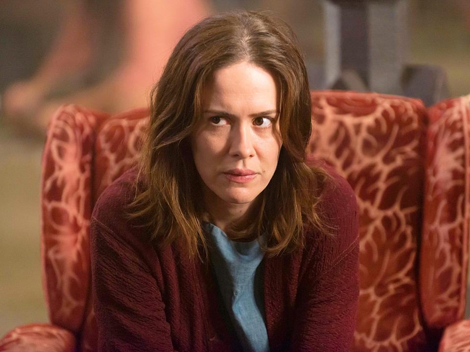 "Sarah Paulson has appeared on nine seasons of ""American Horror Story."""
