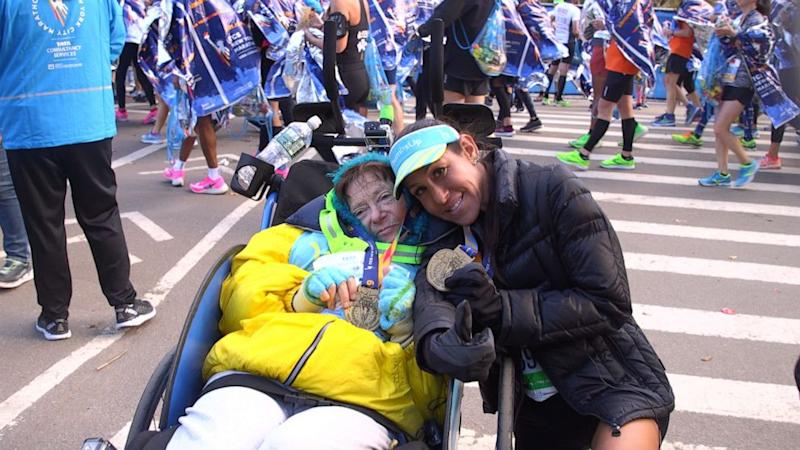 2 women are setting the pace for an amazing marathon feat