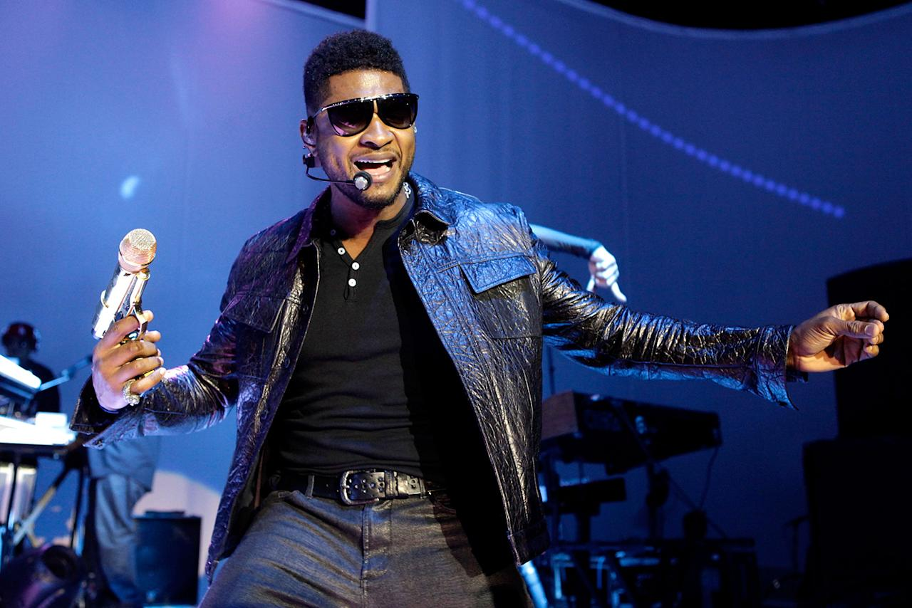 Usher The full name of the 2011 Super Bowl performer is Usher Raymond IV.