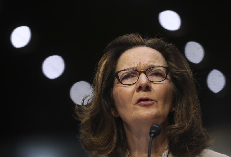 Haspel wins backing of Senate panel for Central Intelligence Agency  post