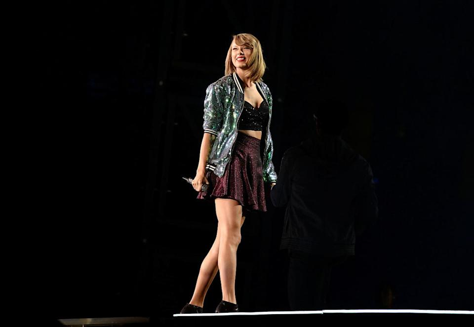 Taylor Swift may become the first woman to win Album of the Year twice for albums on which she was the lead artist. She won six years ago for her sophomore album, Fearless, and is nominated this year for her fifth album, 1989. Odds of this happening: Very good, but Alabama Shakes and Kendrick Lamar are both potent challengers.