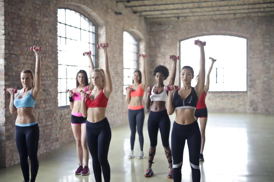 Go to classes if solo exercise isn't your thing [Photo: Pexels]