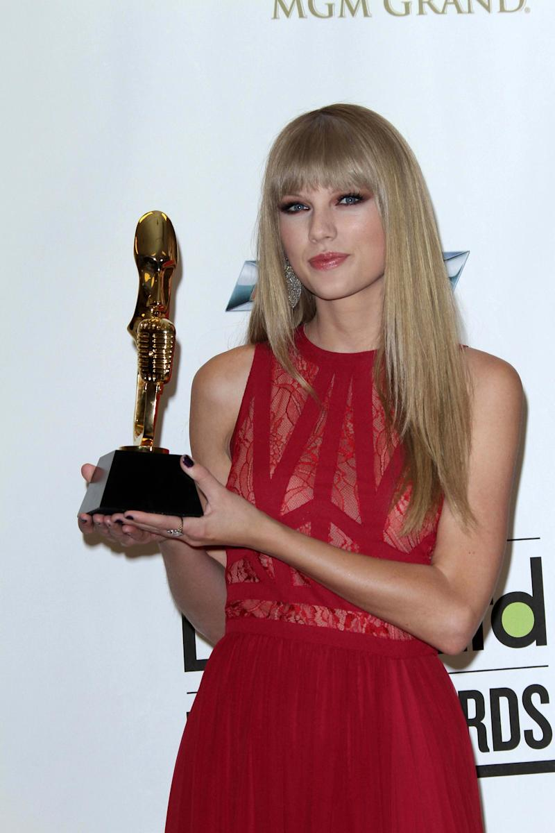 "Ok fine, so it was Jay Leno who actually said the words, but Taylor dished her best relationship advice in a recent interview with Cosmo. The singer claimed that Leno<a href=""http://www.thehollywoodgossip.com/2012/10/taylor-swift-gets-sexy-on-awkward-cosmo-cover/""> told her</a>: ""It's easy. Just marry your conscience. Marry the one who makes you want to be a better person."""