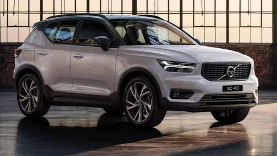 Discount worth Rs. 3.3 lakh on the Volvo XC40 SUV