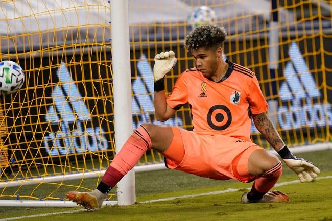 Canadian 'keeper Dayne St. Clair makes most of MLS opportunity with Minnesota