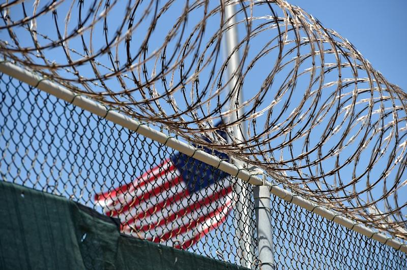 The number of prisoners at Guantanamo, set up on Cuba soil after the September 11, 2001 attacks, is down to 59, of which 22 have been cleared for transfer (AFP Photo/Mladen Antonov)