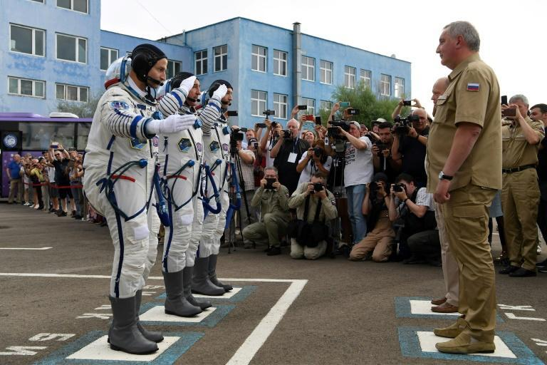 Dmitry Rogozin has struggled to return Moscow's space programme to the glory days of 1961 when the Soviet Union launched the first man -- Yuri Gagarin -- into space