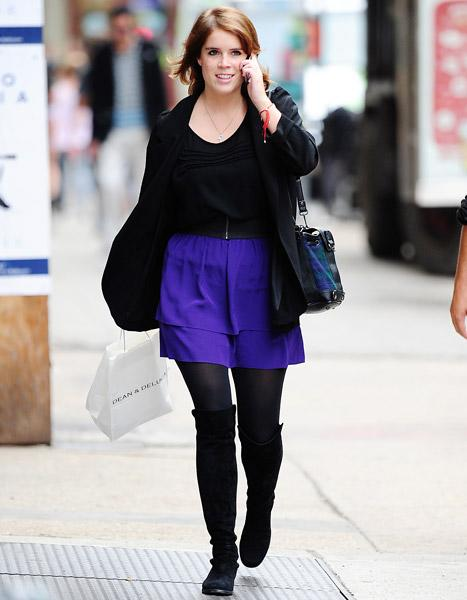 Princess Eugenie Moves to New York City, Walks to Work Every Day
