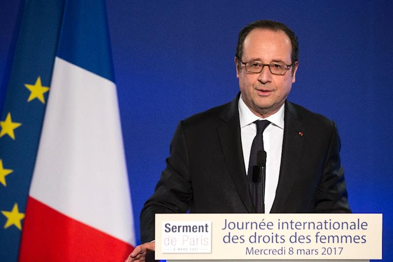 The uptick in job creation comes too late for Socialist President Francois Hollande who decided in December not to stand for re-election