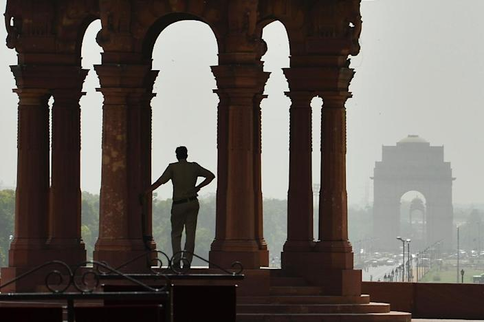 Indian forecasters say the heatwave conditions will take another four to five days to subside (AFP Photo/Chandan Khanna)