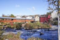 """<p>The countryside is calling! People are flocking to small towns and hamlets that ooze charm and character to experience a more local feel away from crowds. And the good news is, there are SO many of them.</p> <p>Littleton, NH, is a cute-as-can-be riverside town that adopted the classic character of Pollyanna as its mascot. You truly can't help but """"be glad"""" here. This historical-meets-modern town is host to several antique shops, the iconic <a href=""""http://thayersinn.com/"""" class=""""link rapid-noclick-resp"""" rel=""""nofollow noopener"""" target=""""_blank"""" data-ylk=""""slk:Thayer's Inn"""">Thayer's Inn</a>, a covered bridge, a rockin' <a href=""""http://schillingbeer.com/"""" class=""""link rapid-noclick-resp"""" rel=""""nofollow noopener"""" target=""""_blank"""" data-ylk=""""slk:brewery"""">brewery</a>, and an adorable Sunday farmers' market. Oh, and breakfast is a <em>big</em> deal here.</p> <p>Clayton, NY, in the 1,000 Islands region is the epitome of wide-open spaces and serves as a solid base for exploring the area. A <a href=""""http://www.macnaturecenter.com/"""" class=""""link rapid-noclick-resp"""" rel=""""nofollow noopener"""" target=""""_blank"""" data-ylk=""""slk:nature center"""">nature center</a>, <a href=""""http://tilandtrust.org/explore/preserves-trails"""" class=""""link rapid-noclick-resp"""" rel=""""nofollow noopener"""" target=""""_blank"""" data-ylk=""""slk:hiking trails"""">hiking trails</a>, boat tours, a castle (yes, please!), and a lighthouse make for the perfect small-town social-distancing venture. After all that fresh-air action, slumber at the <a href=""""http://www.1000islandsharborhotel.com/"""" class=""""link rapid-noclick-resp"""" rel=""""nofollow noopener"""" target=""""_blank"""" data-ylk=""""slk:1000 Islands Harbor Hotel"""">1000 Islands Harbor Hotel</a> for a refresh to do it all again the next day.</p> <p>Cambria, CA, is a coastal gem along the famous Highway 1. History meets beach here, where you're likely to spot whales, dolphins, and otters just by strolling Moonstone Beach Boardwalk. Sleep at <a href=""""http://beeskneesfruitfarm.com/"""" class=""""link rapid-noclic"""