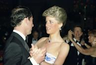 <p>Diana and Charles attended a celebration at The Hotel Hyatt in Melbourne, Australia, where Diana accessorized with the jewels.</p>