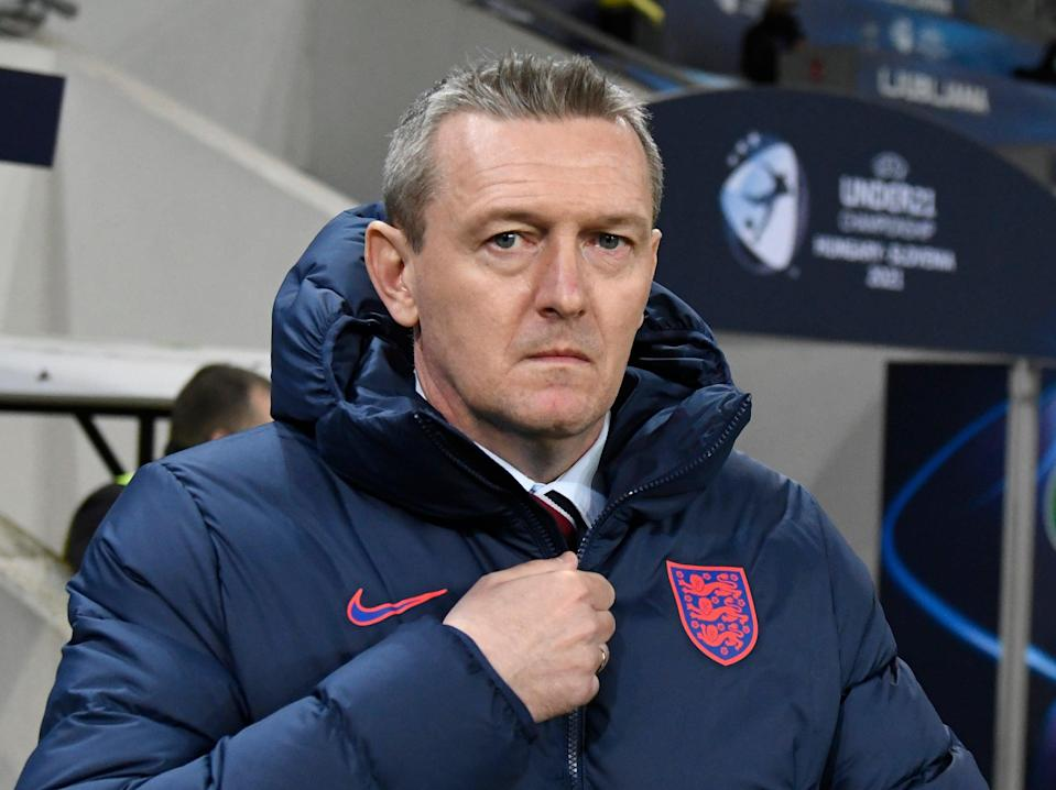 <p>Aidy Boothroyd has left his role as England U21s manager</p> (The FA via Getty Images)