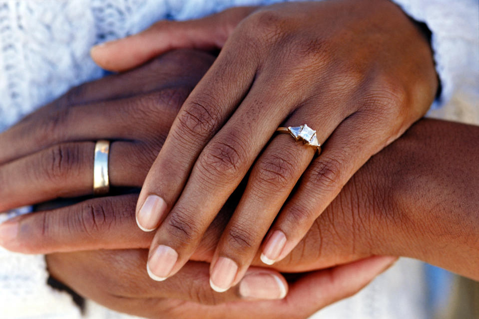 A Boston couple received a wedding gift from a total stranger after an email address typo brought them together. (Photo: Getty Images)