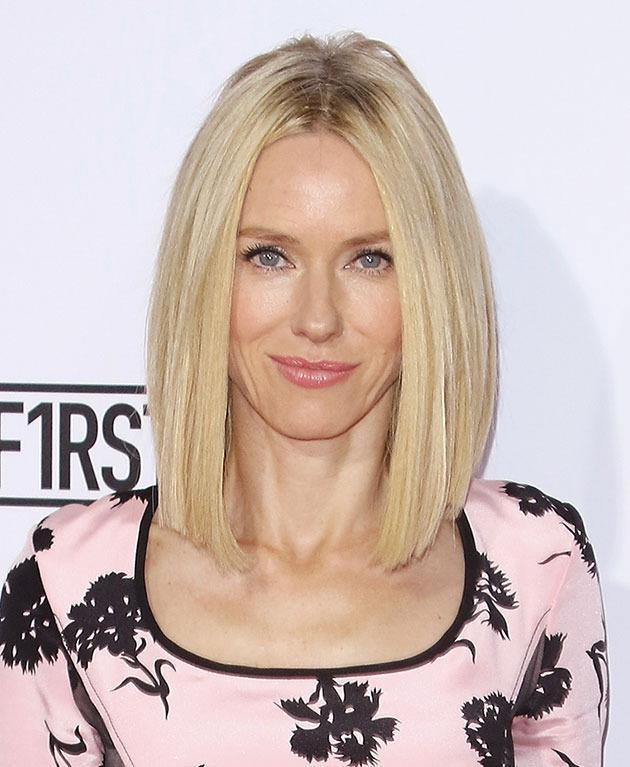 <br>Naomi Watts has been blonde as long as we can remember, and her sleek lob is perfection, but...