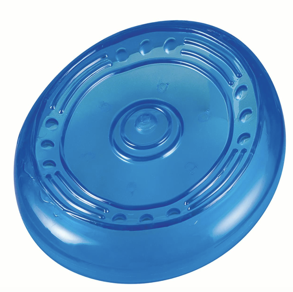 Orka Flyer Rubber Durable Frisbee Chew and Fetch Dog Toy (Photo: Walmart)