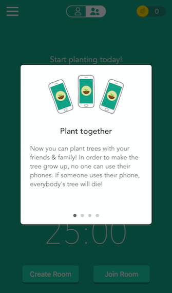 Forest's Plant Together feature