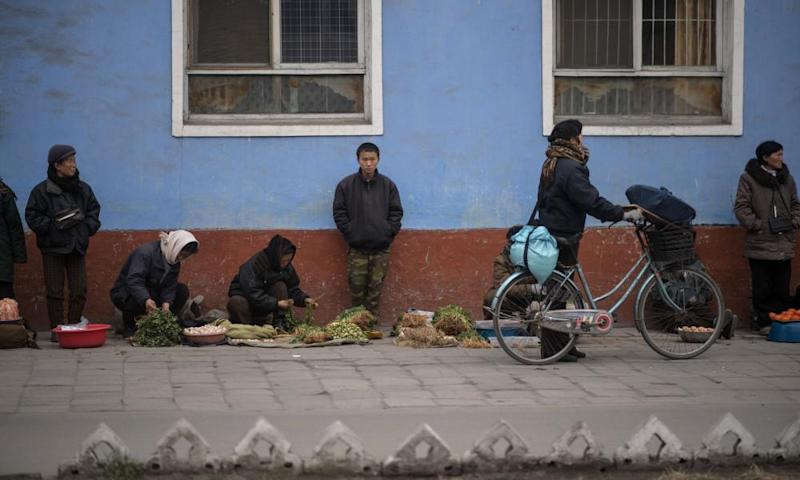 About 18 million people in North Korea – 70% of the population – are estimated to rely on government food aid.