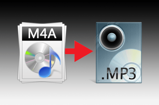 How To Convert M4A files to MP3 format
