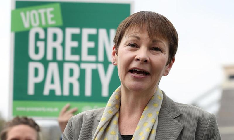 Green party joint leader Caroline Lucas, MP for Brighton Pavilion.