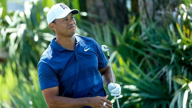 The Bear Trap once again tarnished a very good round from Tiger Woods, but the 14-time major winner brushed in a late birdie for a Saturday 69.