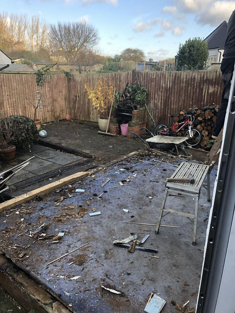 <p>During lockdown, David transformed his bleak and unloved garden corner into a stylish patio that's perfect for relaxing. Take a look at the after shot...<br></p>