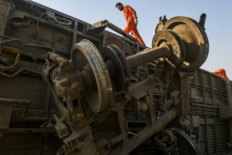 Army and civil engineers have cleared much of the wreckage of carriages crushed like tin cans in the collision, and welders were finalising repairs to the damaged rails