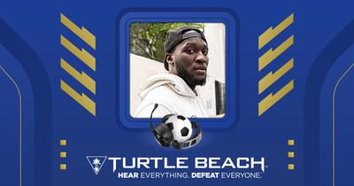 Romelu Lukaku teams-up with Turtle Beach for all his gaming needs.