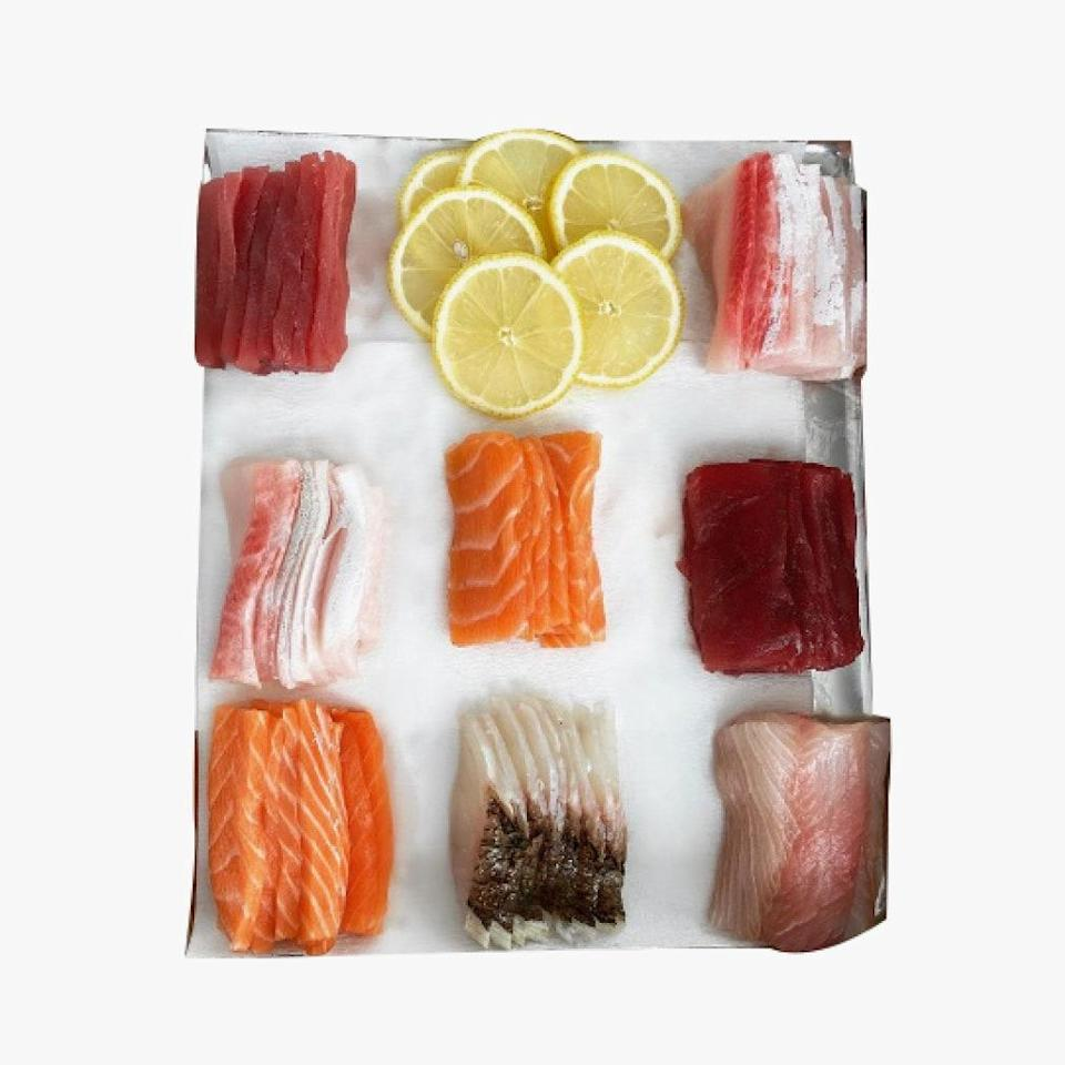 """For those in the New York City area, an at-home Omakase dinner from Masuda Omakase is a really wonderful gift. You'll likely get invited to said dinner so there's really nothing not to like. (Book via their Instagram.) $500, Masuda Omakase. <a href=""""https://www.instagram.com/masuda_omakase/"""" rel=""""nofollow noopener"""" target=""""_blank"""" data-ylk=""""slk:Get it now!"""" class=""""link rapid-noclick-resp"""">Get it now!</a>"""