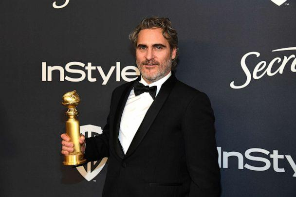 PHOTO: Joaquin Phoenix attends The 2020 InStyle And Warner Bros. 77th Annual Golden Globe Awards Post-Party at The Beverly Hilton Hotel in Beverly Hills, Calif., Jan. 5, 2020. (Kevin Mazur/Getty Images, FILE)