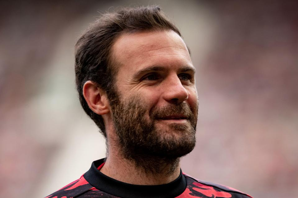 Juan Mata has signed a new one-year contract at Manchester United (Manchester United via Getty Imag)
