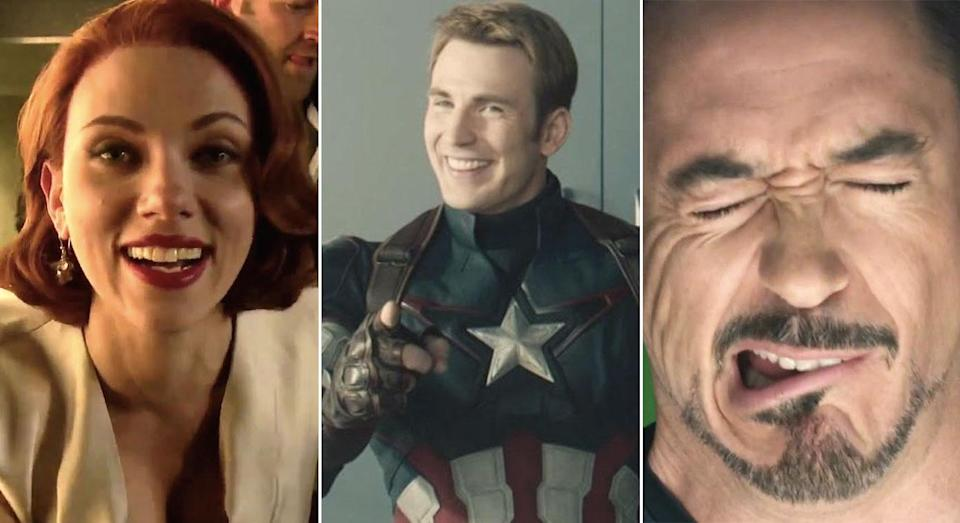 Marvel's gag reels are also worth checking out for major LOLs (Marvel Studios)