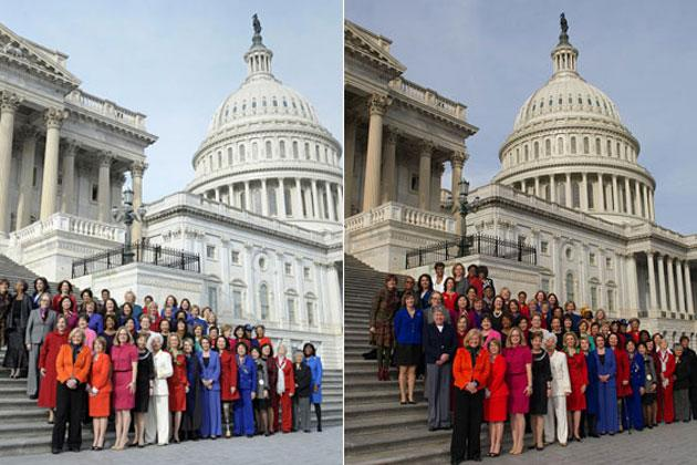 Female members of 113th Congress