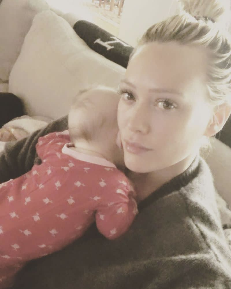 Hilary Duff and daughter