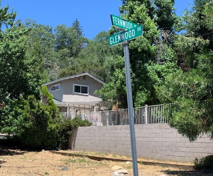 The mountain home in Crestline, Calif., where attorney Marc Angelucci was killed on July 11. A link is being investigated with a shooting at a federal judge's home in New Jersey