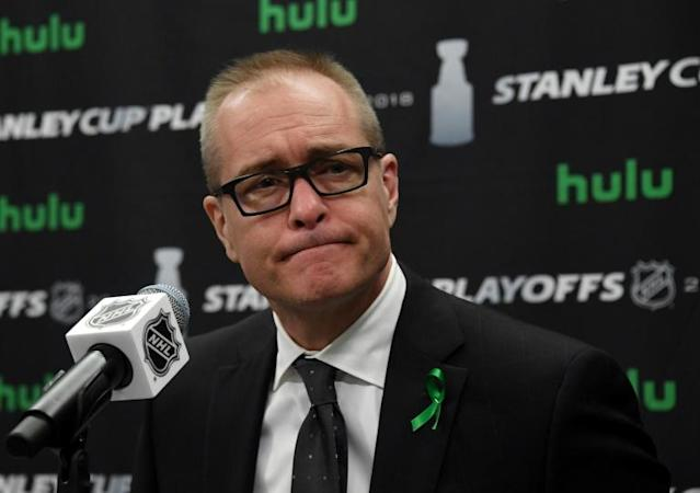 Paul Maurice signed a multi-year contract extension on Wednesday to remain coach of the NHL's Winnipeg Jets (AFP Photo/Ethan Miller)