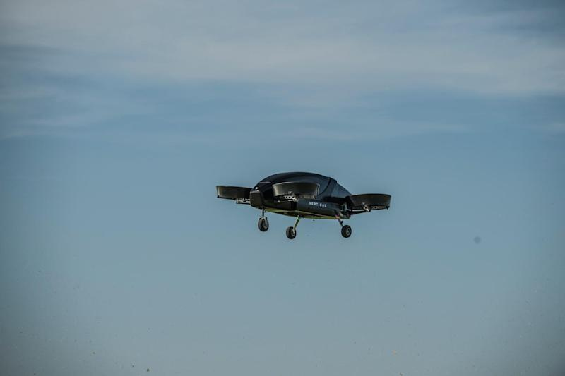 Vertical Aerospace lift off! UK's first electric flying taxi could be taking you to work in four years