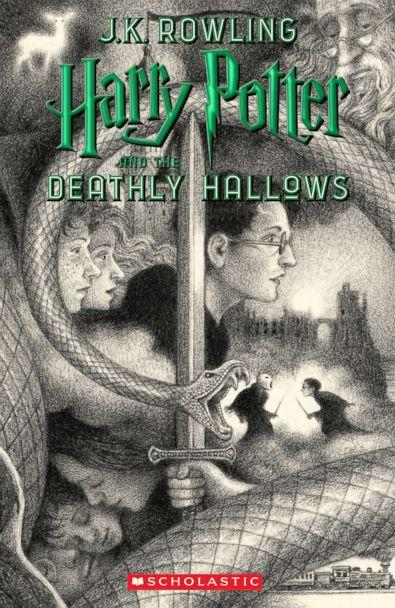 PHOTO: Scholastic's new book cover for 'Harry Potter and the Deathly Hallows,' featuring art by Brian Selznick, is pictured here. (Brian Selznick (c) 2018 by Scholastic Inc.)
