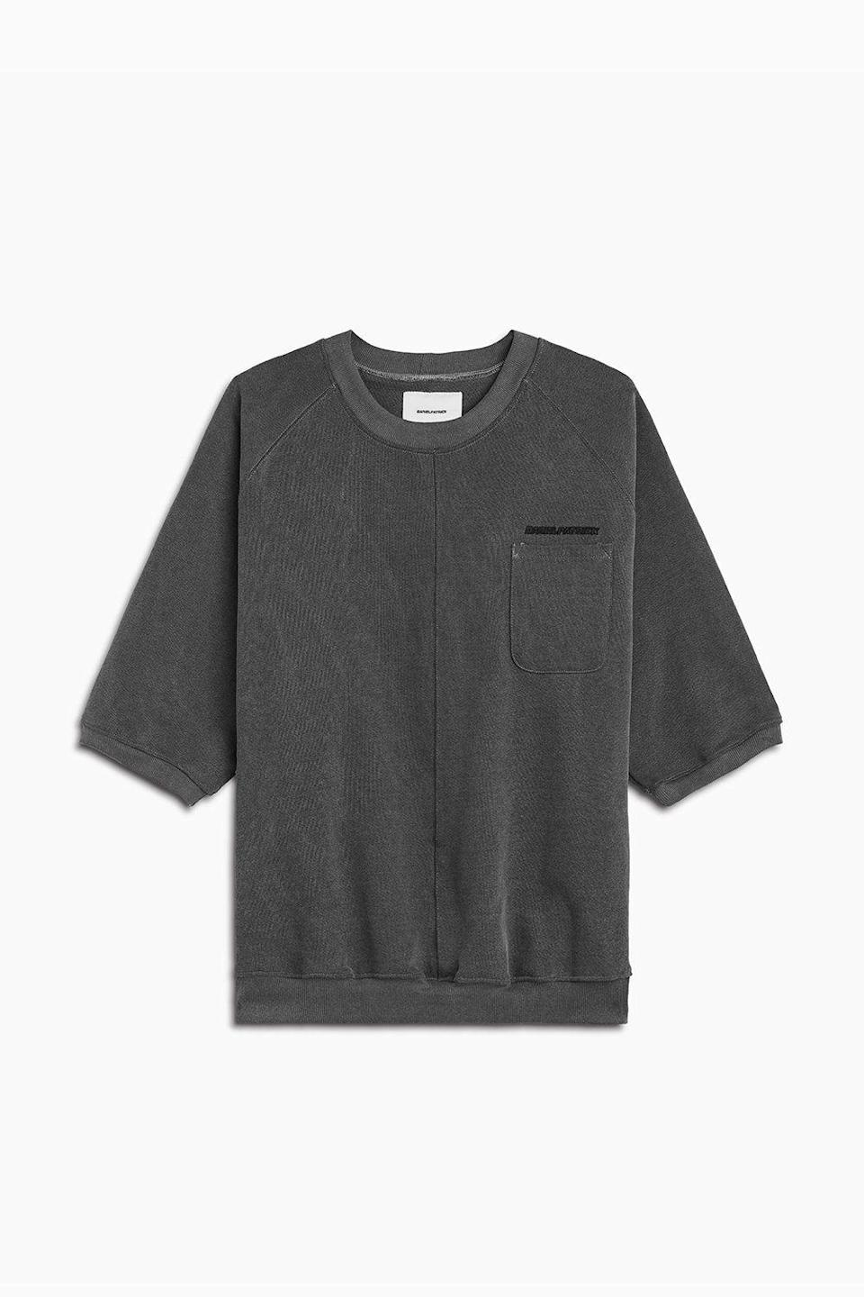 "<p><strong>Daniel Patrick</strong></p><p>danielpatrick.us</p><p><strong>$200.00</strong></p><p><a href=""https://www.danielpatrick.us/collections/mens-new-arrivals/products/s-s-raglan-pocket-crew-vintage-black"" rel=""nofollow noopener"" target=""_blank"" data-ylk=""slk:Shop Now"" class=""link rapid-noclick-resp"">Shop Now</a></p><p>Regardless of season, coziness is always in style. This raglan crew has a refined, modern look, yet you're still just wearing a sweatshirt, coziness intact. Its a WFH win-win.</p>"