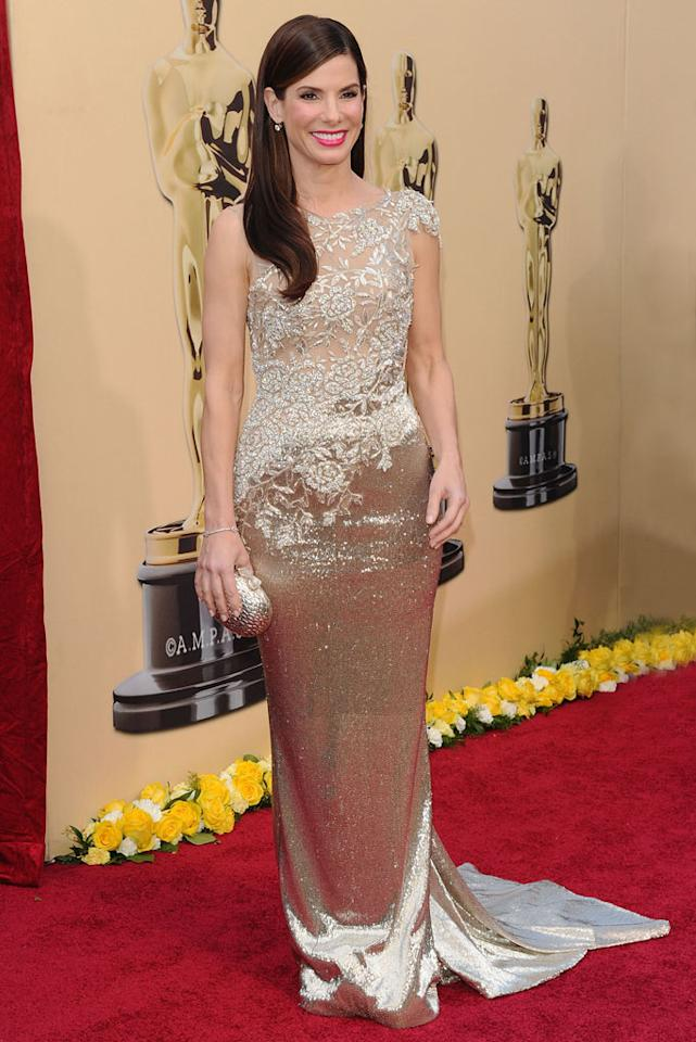 Sandra Bullock arrives at the 82nd Annual Academy Awards held at Kodak Theatre on March 7, 2010 in Hollywood, California.