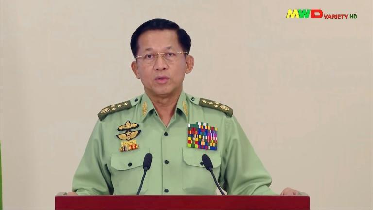 """Myanmar military chief General Min Aung Hlaing on Monday declared that this time things would be """"different"""" from the army's previous 49-year reign, which ended in 2011"""