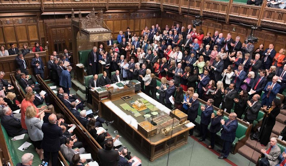 A member of Britain's House of Commons (pictured) can only be removed if found guilty by an election court. Photo: AFP