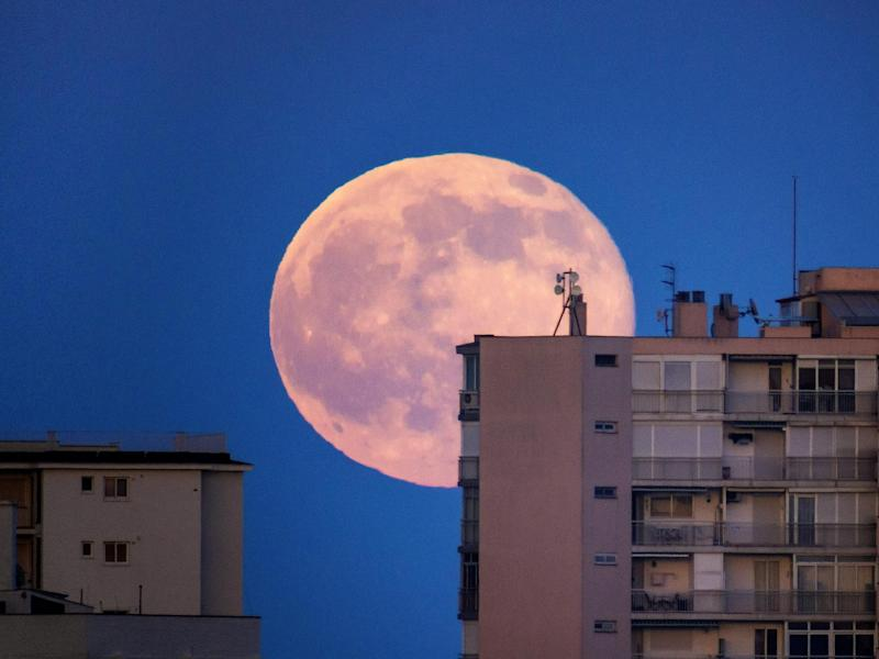 April's supermoon will offer the biggest and brightest view of the full moon in over a year: Getty Images/iStockphoto