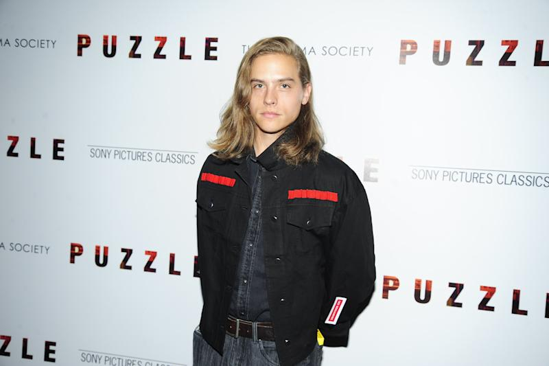 Dylan Sprouse attends Sony Pictures Classics with the Cinema Society Host a Screening of Puzzle at the Roxy Hotel Cinema on July 24, 2018.